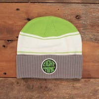 Winner's Circle Cuffed Beanie Neon Green