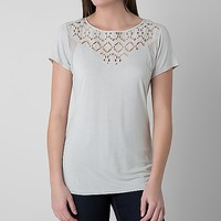 BKE Red Laser Cut Top