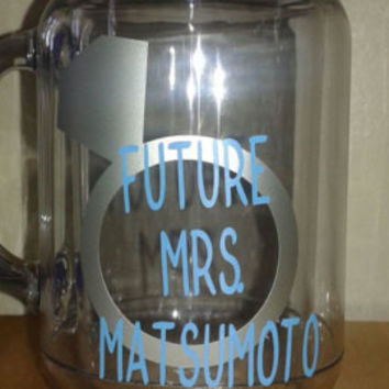 Future Mrs. Mason Jar Tumbler