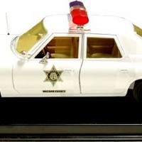 Dukes of Hazzard Roscoe's Sheriff Police Car 1:18 Scale Diecast Car