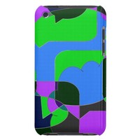 Dark Comic Abstract iPod Touch Case-Mate Case
