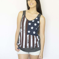 American Flag Tank | Le Cose Belle