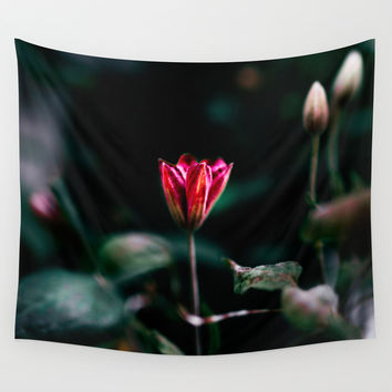 Reaching out Wall Tapestry by HappyMelvin
