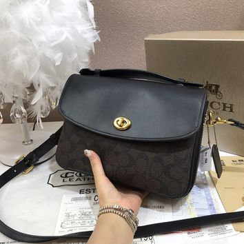 2020 New Office coach Women Canvas Saddle leather Monogram Handbag Neverfull Bags Tote Shoulder Bag Wallet   Purse Bumbag Discount Cheap Bags Best Quality