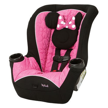 Disney Mickey Mouse & Friends Apt Convertible Car Seat In Pink Black