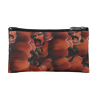 Fall Pumpkins Cosmetic Bag