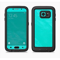 The Subtle Neon Turquoise Surface Full Body Samsung Galaxy S6 LifeProof Fre Case Skin Kit