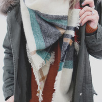 Warm Embrace Blanket Scarf