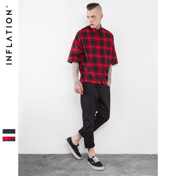 New Arrivels Flannel Shirts Mens Hip Hop Oversized Mens Shirts Hiphop Streetwear Mens Shirts