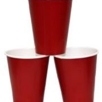 9oz Red Paper Cups