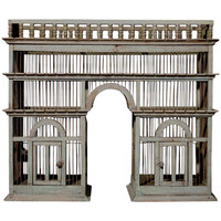 19th Century Architectural Birdcage