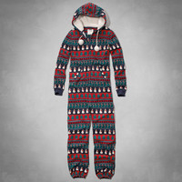 Snowman Sleep Onesuit
