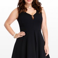 Plus Size Harlow Eyelet Flare Dress | Fashion To Figure
