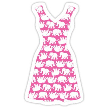 Lilly Pulitzer Inspired Dress Tusk in Sun (Pink) by mlr28blu