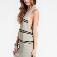 Busy Signals Chain Detail Dress By One Teaspoon - $159.00 : ThreadSence, Women's Indie & Bohemian Clothing, Dresses, & Accessories