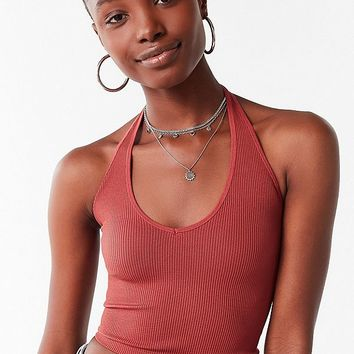Out From Under Jackie Seamless Halter Tank Top | Urban Outfitters