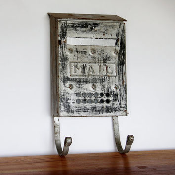 Antique Mailbox Letter Holder by RestorationHarbor on Etsy