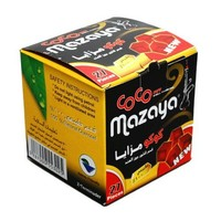 Coco Mazaya Hookah Shisha Natural Charcoals 27 Pieces