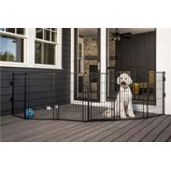 Carlson Pet Products - Supergate Extra Tall With Small Pet Door