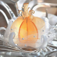 Soap - 10 Fairy Tale Wedding Pumpkin Favors - Bridal Shower - 3 inch