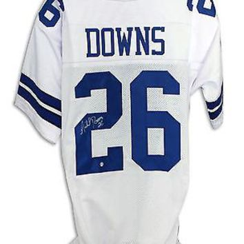Michael Downs Autographed White Jersey Dallas Cowboys