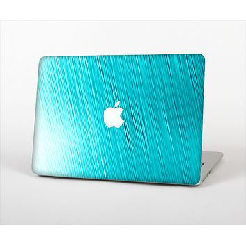 "The Light Blue Slanted Streaks Skin Set for the Apple MacBook Pro 13"" with Retina Display"