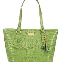 Brahmin Melbourne Glossy Collection Medium Asher Tote