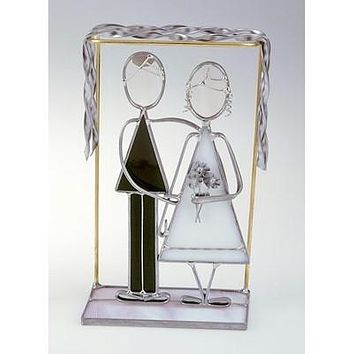 Bride And Groom Mini-Sculpture