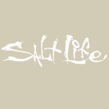 Salt Life Signature Small Decal - Small (6'') - Decals - Gear