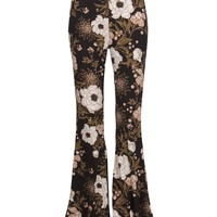 Wild Flower Flared Bell Bottom Pants