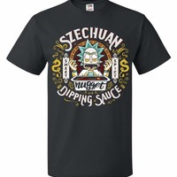 Rick And Morty Szechuan Nugget Dipping Sauce Unisex T-Shirt