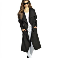 Autumn Women Outerwear Jacket Underbust Waist Coat Windbreaker a12958