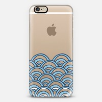 Waves Transparent #2 iPhone 6s case by Project M | Casetify