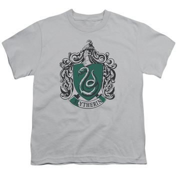 Harry Potter - Slytherine Crest Short Sleeve Youth 18/1 Shirt Officially Licensed T-Shirt