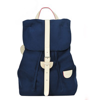 Preppy Style Blue Backpack on Luulla