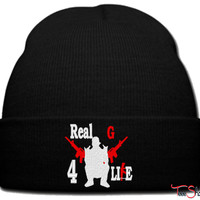 REAL G_PXF beanie knit hat