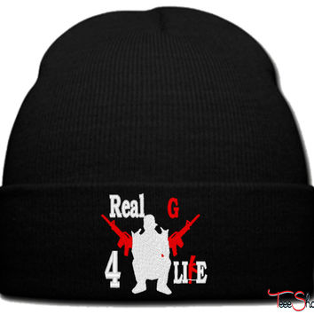 real g 4 life nengo beanie knit hat