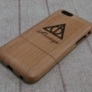 Wood  iphone case, harry potter always, iphone 6 case,iphone 6plus, iphone 5 case ,iphone 4, iphone 5c case, wood case,wooden iphone case