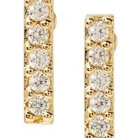 Banana Republic Womens Sparkle Stud Earring Size One Size - Gold