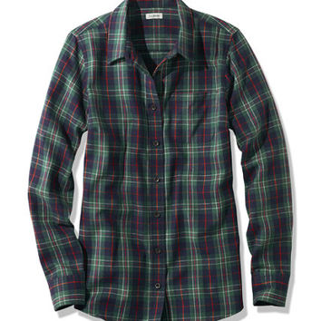 Women's Scotch Plaid Shirt, Slightly Fitted   Free Shipping at L.L.Bean