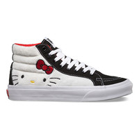 Vans Hello Kitty Sk8-Hi Slim Womens Shoes Plush/True White  In Sizes
