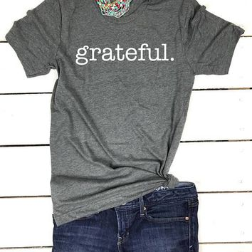 Grateful shirt, Grateful Thankful Blessed, Thanksgiving Tshirt, Thanksgiving outfit, Thanksgiving shirt, Cute Fall Clothes, Blessed Mama tee