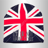 Lol Ur Not Harry Styles Beanies One Direction Beanies British Great Britain Harry Liam Nial Zayn Louis Custom Beanies Winter Hats Music Band