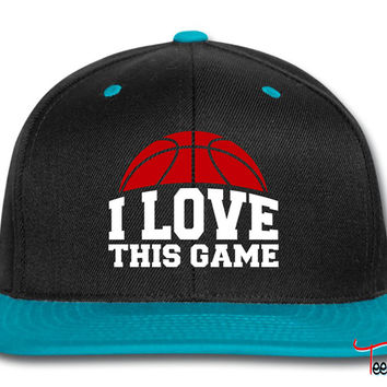 I LOVE THIS GAME Snapback