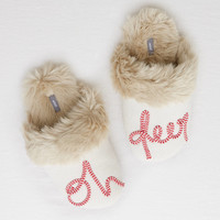 Aerie Magical Graphic Slipper , Heather Frost