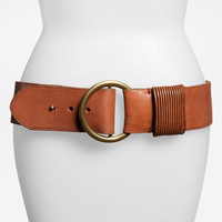 Lauren Ralph Lauren Slit Keeper Leather Belt | Nordstrom