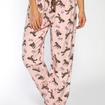 Horse Play Pajama Pants by PJ Salvage