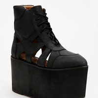 Urban Outfitters - Jeffrey Campbell Stein Extreme High-Top Flatform-Sneaker