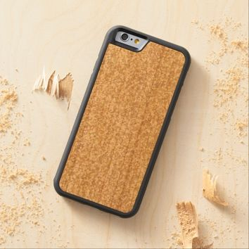 Cool Light Gold Glitter Carved® Cherry iPhone 6 Bumper Case
