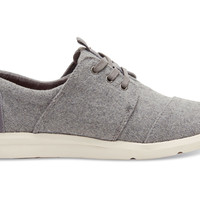 TOMS Del Rey Sneakers Women Grey Felt
